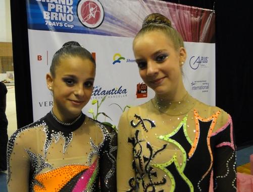 Lena Macháčková a Kateřina Vernerová